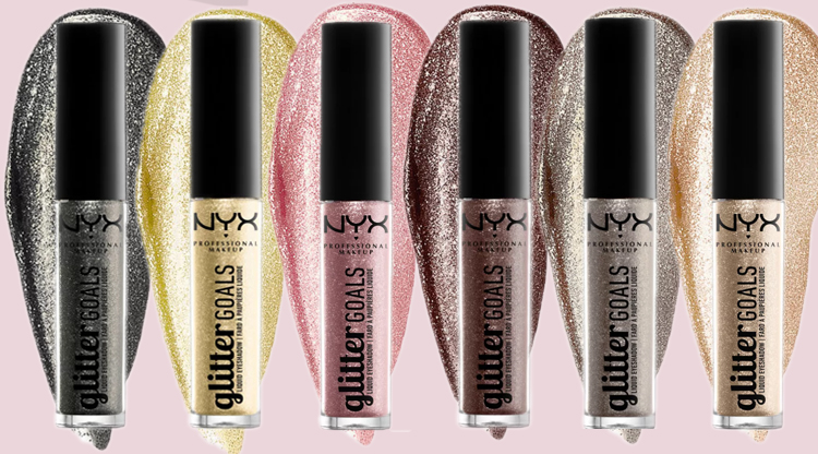 Жидкие тени для век GLITTER GOALS LIQUID EYESHADOW NYX