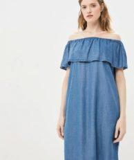 Платье джинсовое Baon Baon BA007EWDXCC2