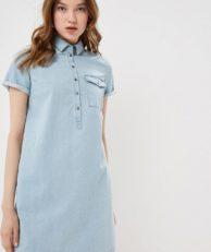 Платье джинсовое Befree Befree MP002XW0SJI2