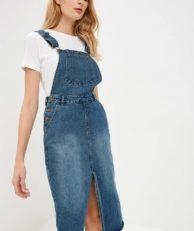 Платье джинсовое Befree Befree MP002XW1IJ21