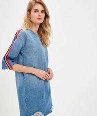 Платье джинсовое Befree Befree MP002XW1IJ23