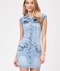 Платье джинсовое DSHE DSHE MP002XW1IDWZ