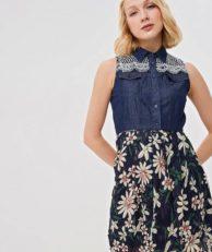 Платье джинсовое Desigual Desigual DE002EWDMYF2