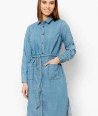 Платье джинсовое Finn Flare Finn Flare MP002XW0IWZU