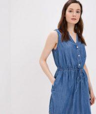 Платье джинсовое Gap Gap GA020EWEGHA8