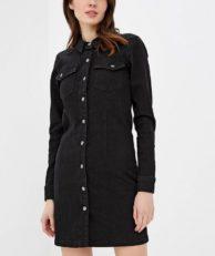 Платье джинсовое Jacqueline de Yong Jacqueline de Yong JA908EWDOQW1