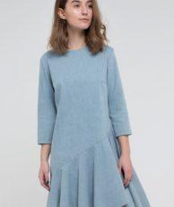 Платье джинсовое Kira Mesyats Kira Mesyats MP002XW13KPT