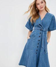 Платье джинсовое LOST INK LOST INK LO019EWDPJZ7