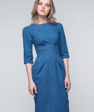 Платье джинсовое Masha Mart Masha Mart MP002XW0ZZLS