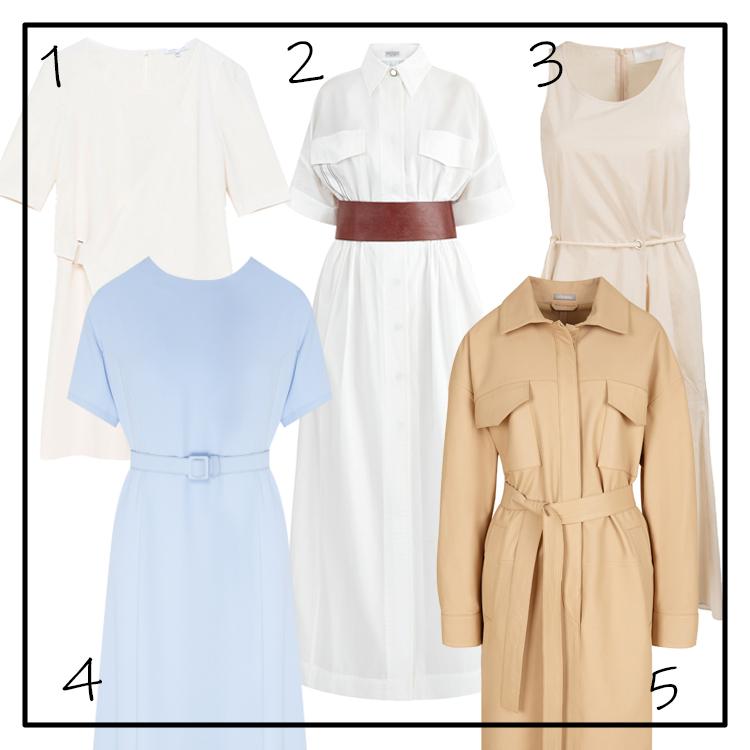 минималистичные платья 2019