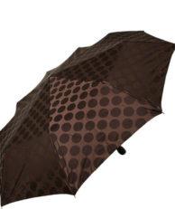 Зонт Zest 23993-5 горошек коричневый