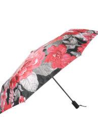 Зонт FLIORAJ 013-037 цветочный принт розовый