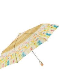 Зонт Zest 23745-7 цветочный принт бежевый