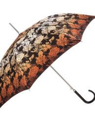 Зонт-трость Doppler 714765N brown цветочный принт коричневый