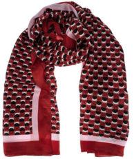 Палантин Coccinelle E7 DY1 35 06 01 M87 красный