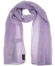Палантин FRAAS 625260 460 горошек фиолетовый