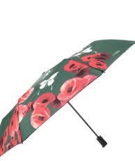 Зонт FLIORAJ 210203 цветочный принт зеленый