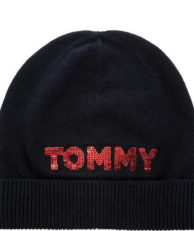 Шапка Tommy Hilfiger AW0AW06184 413 tommy navy