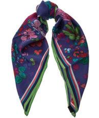 Платок FRAAS 632152 560 цветочный принт фиолетовый
