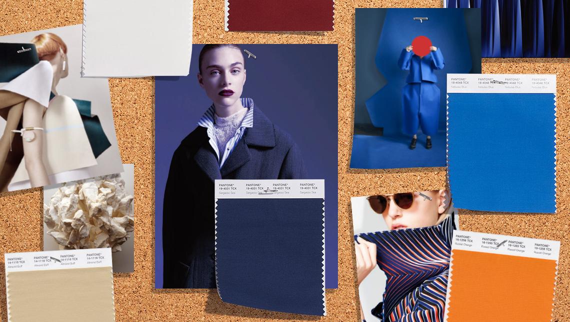 Модные цвета осень — зима 2019/2020