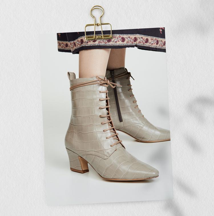 Miista Ботильоны на шнуровке Zelie