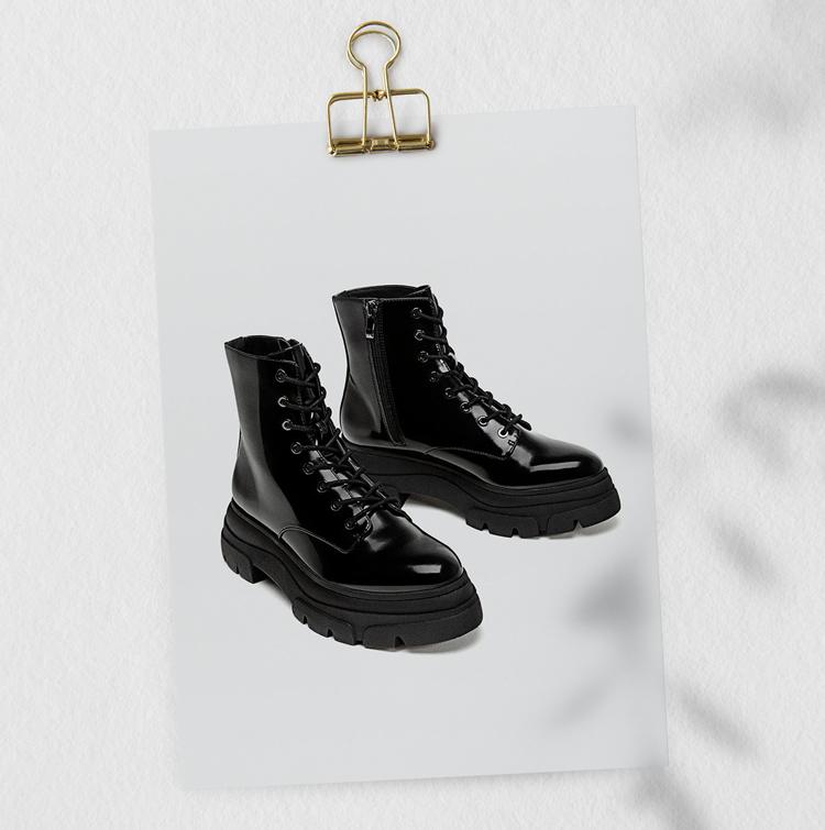 ботинки на массивной подошве 2019 2020