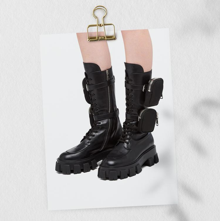 Ботинки PRADA 2019 2020