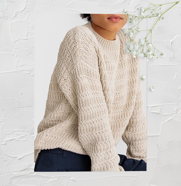 свитер бежевый