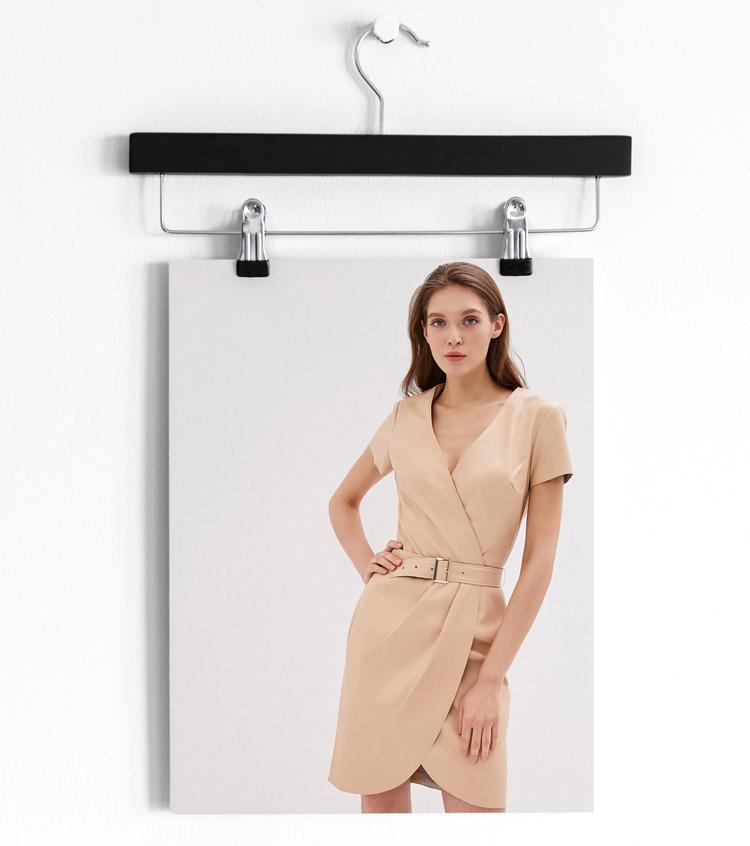 кожаное платье с ремнем