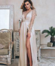 Платье из невесомого шелка ANNA SEDOKOVA X GEPUR