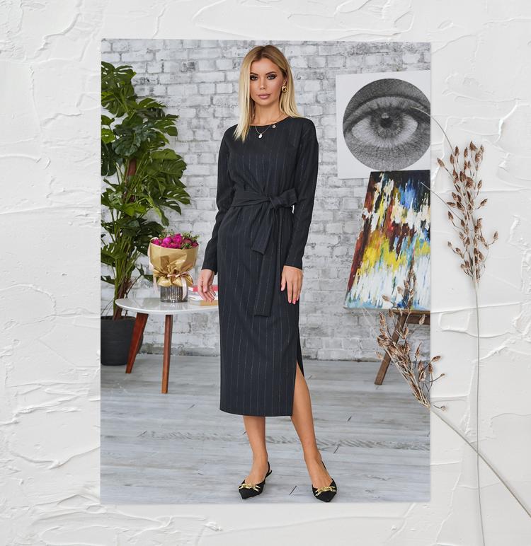 офисное платье 2020