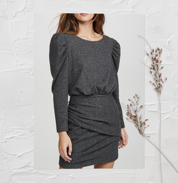 Модное платье осень-зима