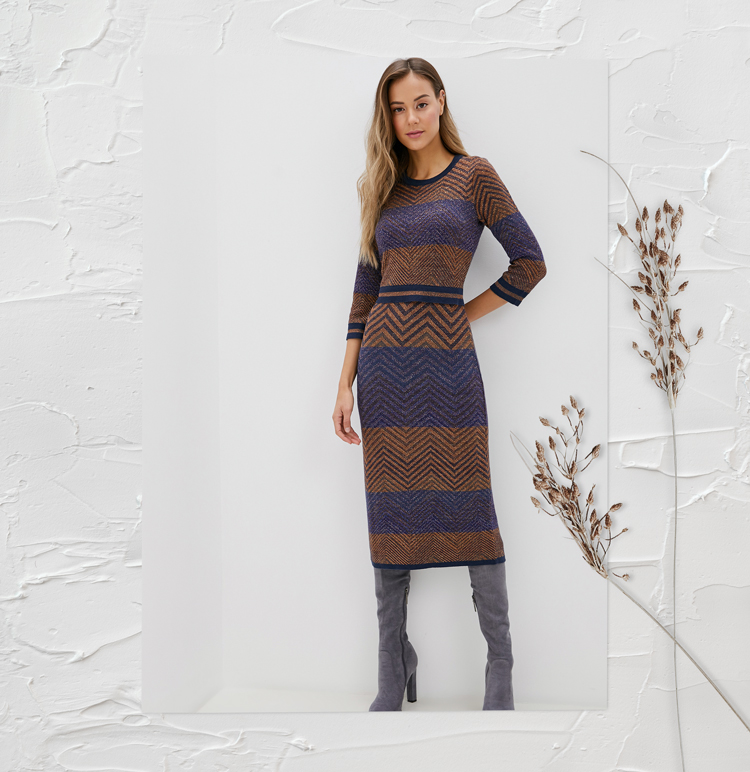 платье для зимы