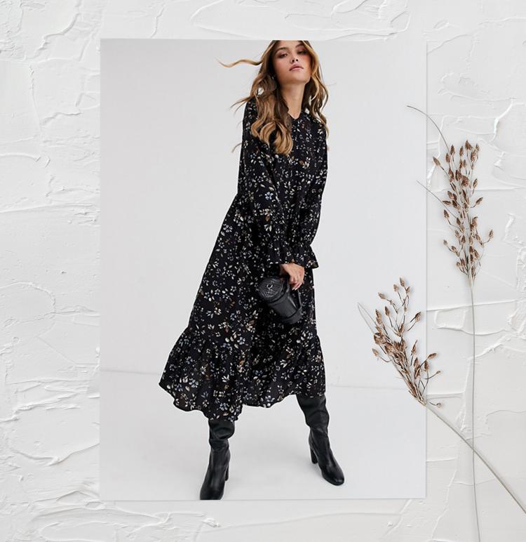 платье в стиле бохо 2020