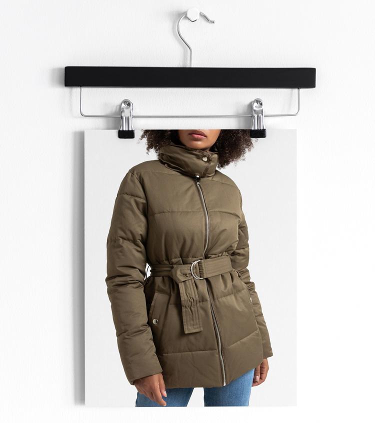 LA REDOUTE COLLECTIONS Куртка стеганая средней длины с ремешком