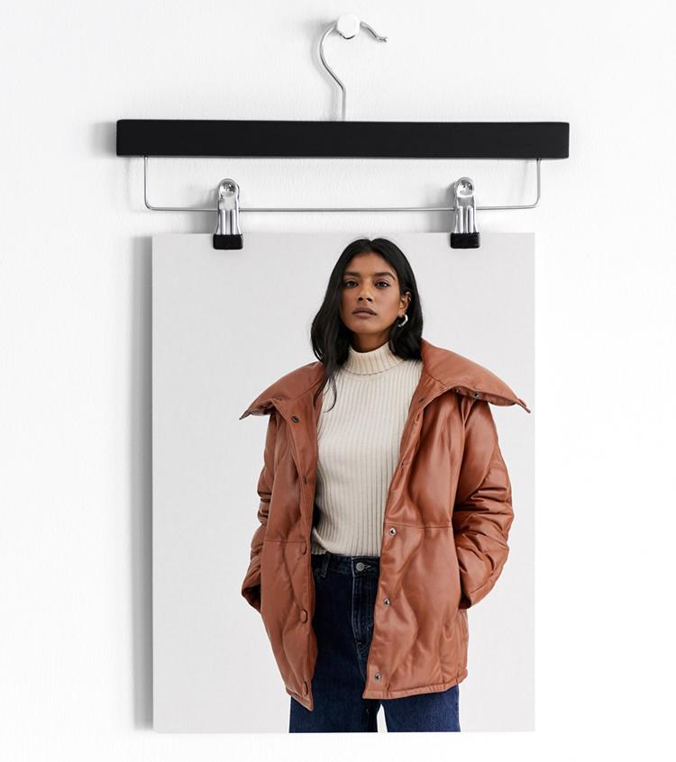 Утепленное кожаное пальто Levete Room