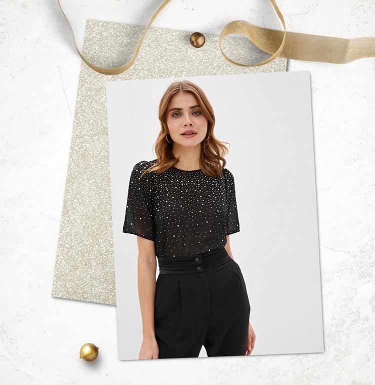 Блузка для праздника