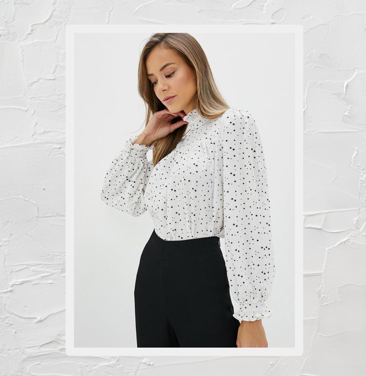 Модная блузка 2020