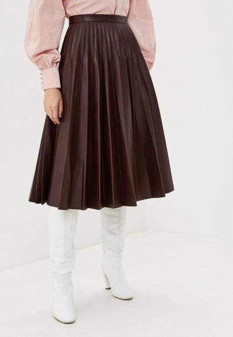 Модная плиссированная юбка 2020