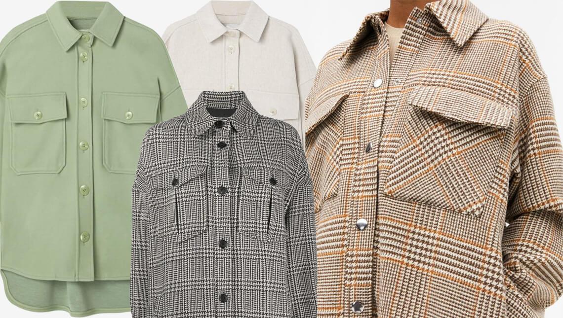 куртка-рубашка тренд весна-лето 2020