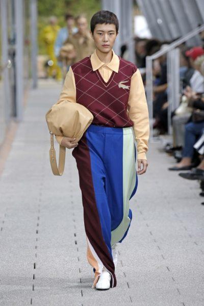 Женская коллекция одежды Lacoste весна-лето 2020