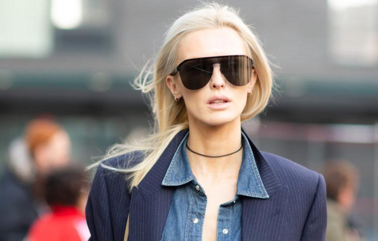 Street style на Неделе моды в Нью-Йорке 2020