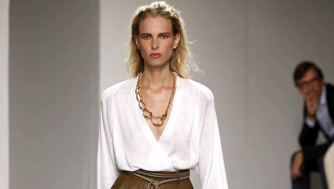 Показ женской коллекции Agnona весна-лето 2020 Ready-to-wear на неделе моды в Милане.