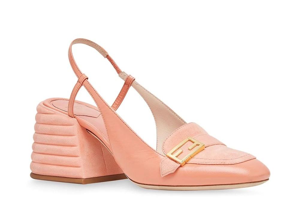 Модные женские лоферы на каблуке 2020