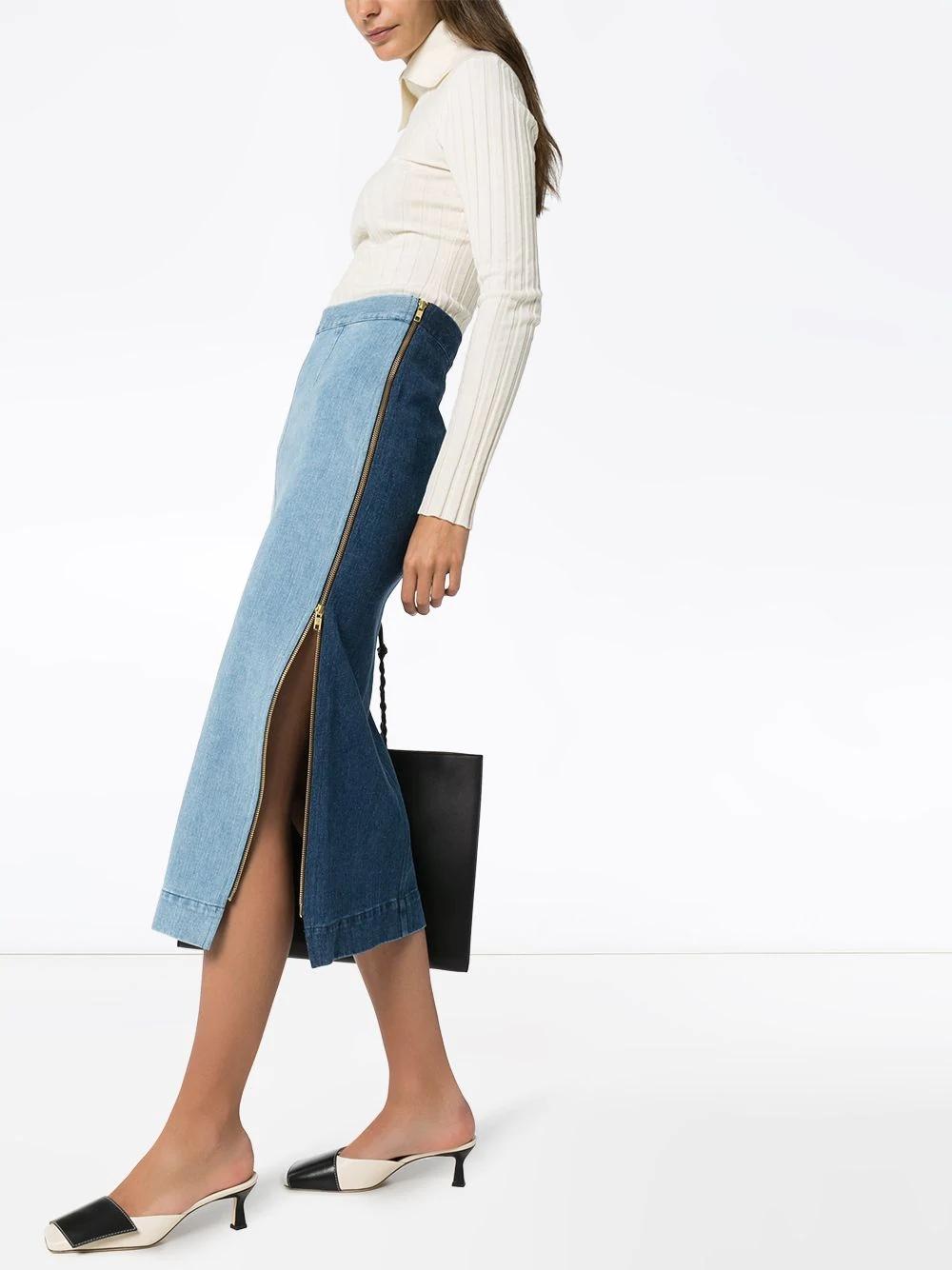 MARA HOFFMAN джинсовая юбка-карандаш Uma