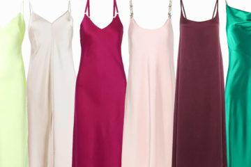 Модные платья комбинации