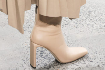 Тренды с показов: Модные модели обуви осень-зима 2020/21