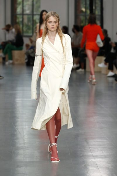 Показ женской коллекции Sportmax весна-лето 2021 Ready-to-wear на неделе моды в Милане.